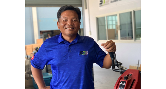 BOONCHUAY ROMPUNG, MACHINERY MANAGER