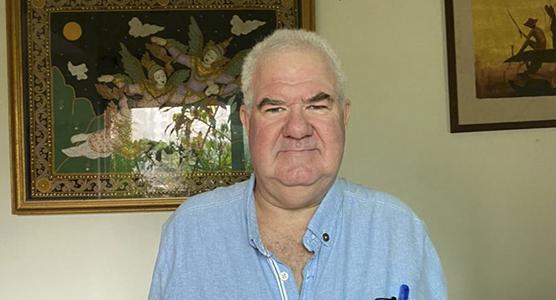 DAVID PARKIN, VEHICLES SALES MANAGER MALAYSIA