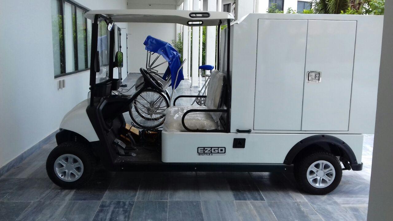 EZGO Shuttle 2 Vanbox for Grandvrio Resort Danang - Vietnam