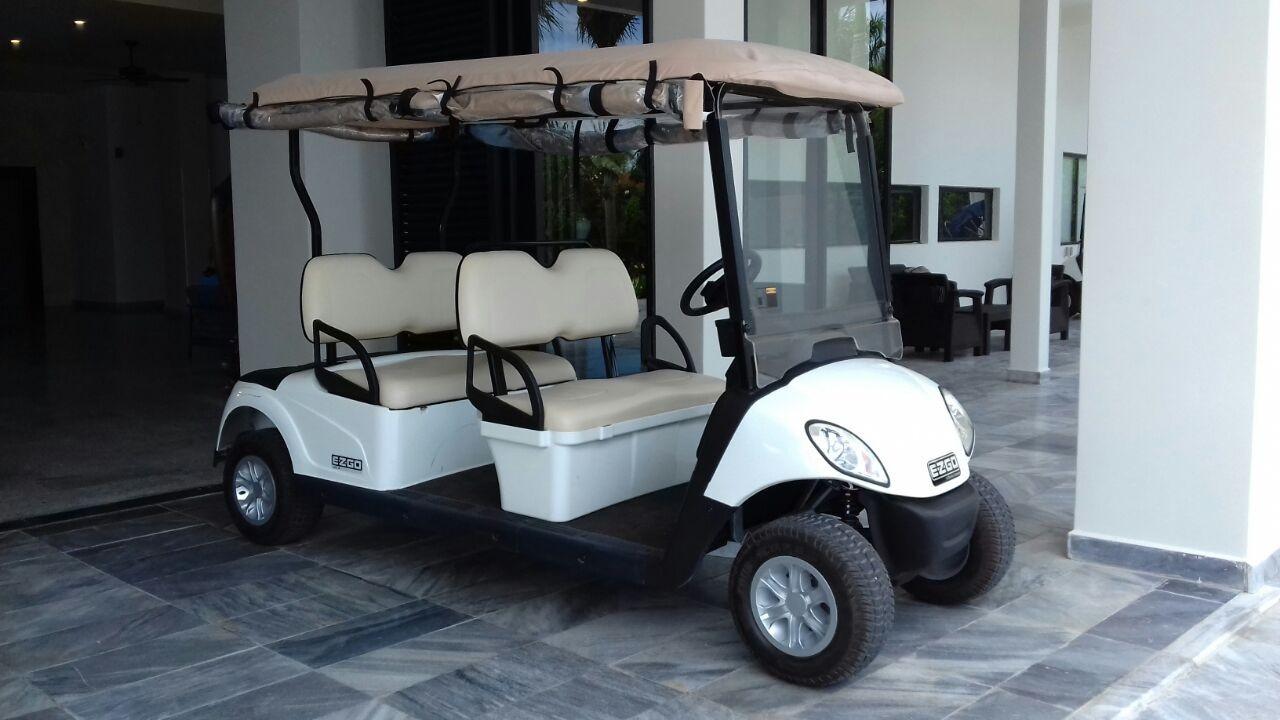 EZGO LXi 4 for Grandvrio Resort Danang - Vietnam (September 2017)