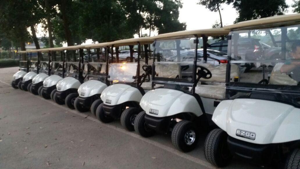 Ten EZGO LXi for Dai Lai Golf Course - Vietnam (October 2017)