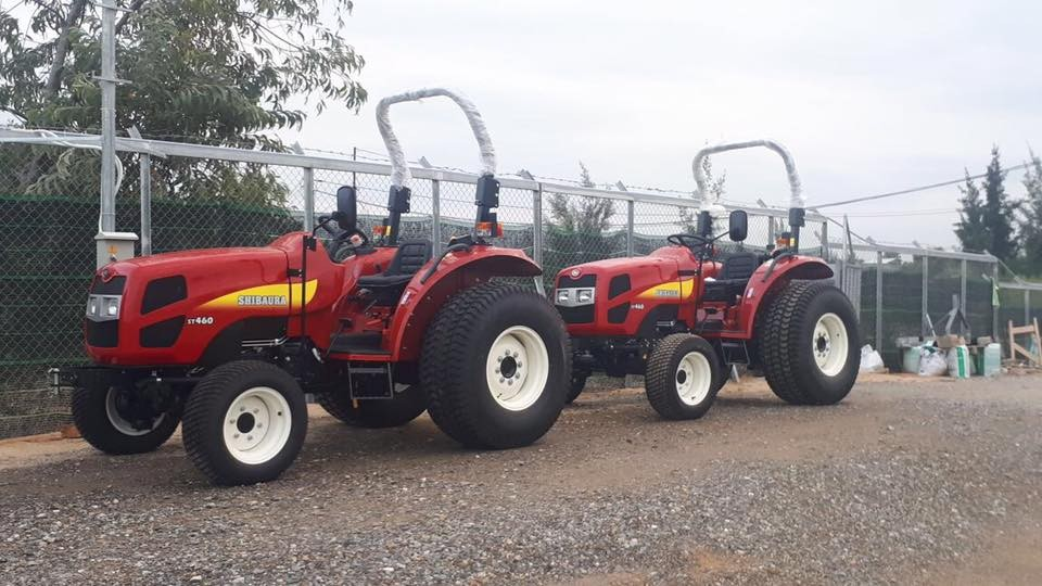Shibaura 60HP Compact Tractors in Hoi An (October 2017)